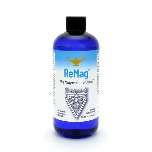 ReMag - The Magnesium Miracle | Piko-ionový tekutý horčík Dr. Deanovej - 480ml
