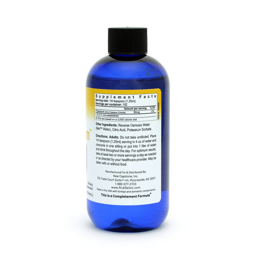 Pico Potassium - Roztok draslíka | Piko-ionový tekutý draslík Dr. Deanovej - 240ml