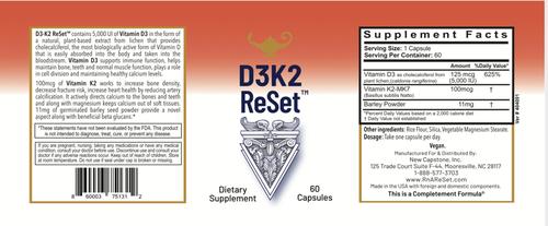 D3K2 ReSet - Vitamín D - Kapsuly