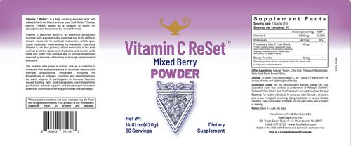 Vitamin C ReSet - Vitamín C - Nápoj v prášku
