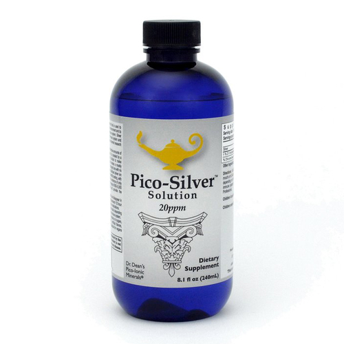 Pico-Silver Solution | Piko-ionový roztok striebra Dr. Deanovej - 240ml