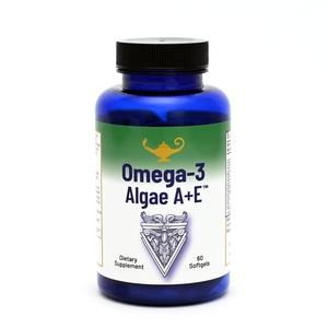 Omega-3 Algae A+E - Vegánske Omega-3 mastné kyseliny z rias s vitamínom A+E